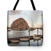Morro Bay Small Pier Tote Bag