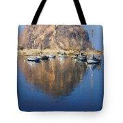 Morro Harbor Tote Bag