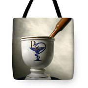 Mortar And Pestle Tote Bag by Kristin Elmquist