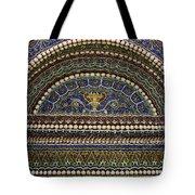 Mosaic And Shell Fountain Getty Villa Malibu California Tote Bag