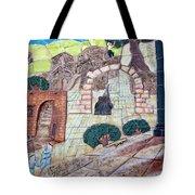 Mosaic Art At Petra Tote Bag
