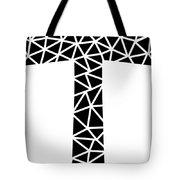 Mosaic Cross  Tote Bag