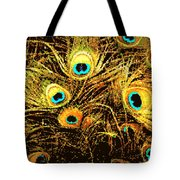 Mosaic Feathers Tote Bag