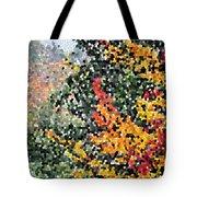 Mosaic Foliage Tote Bag