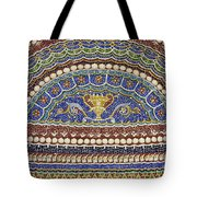 Mosaic Fountain Detail 4 Tote Bag