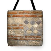 Mosaic From Pompeii Tote Bag