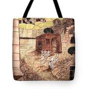 Mosaic Images At Petra Tote Bag