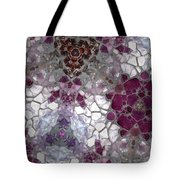 Mosaic In Violets Tote Bag
