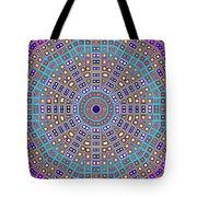 Mosaic Kaleidoscope  Tote Bag