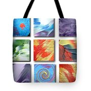 Mosaic Of Abstracts Tote Bag