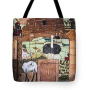 Mosaic Of The Holy Land Tote Bag