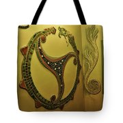Mosaic Serpent Tote Bag