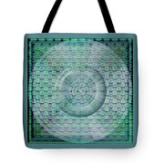 Mosaicea In Blue Tote Bag