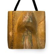 Mosaics In Church Of Theotokos Pammakaristos Tote Bag