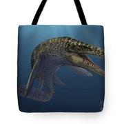 Mosasaurus Hoffmanni Swimming Tote Bag