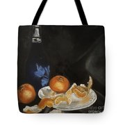 Moscato And Tangerines Tote Bag