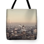 Moscow At Dusk Tote Bag