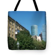 Moscow Business Centre Tote Bag