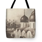 Moscow, Domes Of Churches In The Kremlin Tote Bag