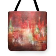 Abstract Moscow Tote Bag