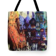 Moscow In The Rain Tote Bag