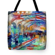 Moscow Metro Station Tote Bag