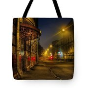 Moscow Steampunk Tote Bag by Alexey Kljatov