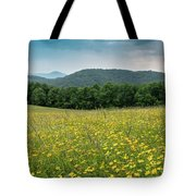 Moses Cone Meadow Tote Bag