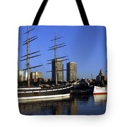 Moshulu And The City Tote Bag