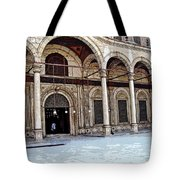 Mosque Of Muhammad Ali Entrance Tote Bag