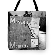 Mosquito Monitor Tote Bag