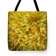 Moss Abstract Tote Bag
