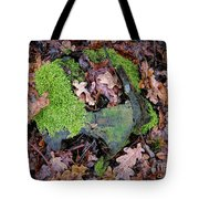 Moss And Leaves Tote Bag