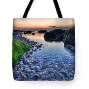 Moss And Water Tote Bag