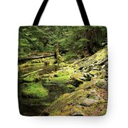 Moss By The Stream Tote Bag