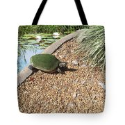 Moss Covered Turtle Tote Bag