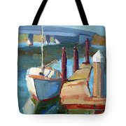 Moss Landing Morning Tote Bag