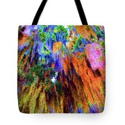 moss of Color Tote Bag