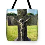 Moss On Cross Tote Bag