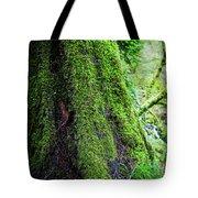 Moss On Tree Tote Bag