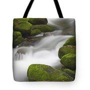 Mossy Boulders Tote Bag