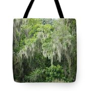Mossy Branches Tote Bag