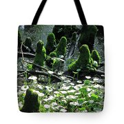 Mossy Congregation II Tote Bag