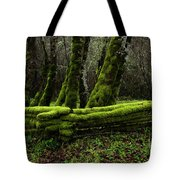Mossy Fence 3 Tote Bag