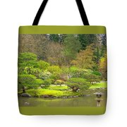 Mossy Garden Tote Bag