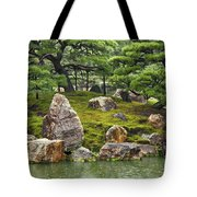 Mossy Japanese Garden Tote Bag