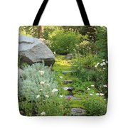 Mossy Path In Tahoe Tote Bag