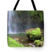 Mossy Rock Tote Bag