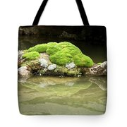 Mossy Turtle Rock Tote Bag