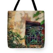 Mossy Wall Tote Bag